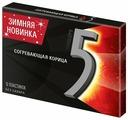 Жевательная резинка Five Согревающая корица, без сахара 10 шт.
