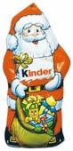 Фигурный шоколад Kinder chocolate с молочной начинкой, 55 г
