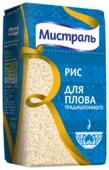 Рис Мистраль белый круглозерный для плова традиционного 900 г