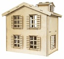 Сборная модель IQ Format Кукольный домик