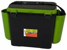 Ящик для рыбалки HELIOS FishBox односекционный (19л) 38х25.5х32см