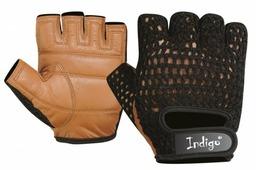 Перчатки Indigo «Кожа+Сетка» SB-16-1967