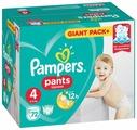 Pampers трусики Pants 4 (9-15 кг) 72 шт.