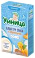 Каша Умница молочная 3 злака с абрикосом (с 6 месяцев) 200 г