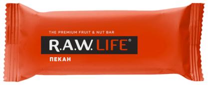 Фруктовый батончик R.A.W. Life без сахара Пекан, 47 г