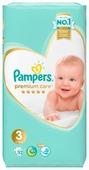 Pampers подгузники Premium Care 3 (6-10 кг) 52 шт.