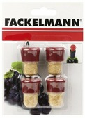 Пробка Fackelmann 49557 4 шт