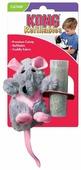 Игрушка для кошек KONG Крыса с тубом кошачьей мяты (NR45)
