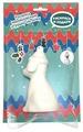 Раскрась и подари Фигура для раскрашивания из керамики Собачка на подложке (IG-1007)