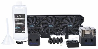 Кулер для процессора Alphacool Eissturm Gaming Copper 30 3x 120 mm