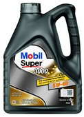 Моторное масло MOBIL Super 3000 X1 5W-40 4 л