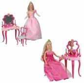 Simba Кукла Steffi Love Штеффи-принцесса со столиком, 29 см, 5733197, в ассортименте