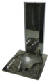 Чаша генуа напольная Nersant 3НСт (генуя) с вертикальным выпуском