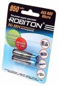 Аккумулятор Ni-Mh 950 мА·ч ROBITON AAA R03 Micro 950