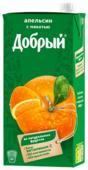 Нектар Добрый Апельсин, с крышкой
