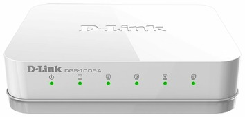 Коммутатор D-link DGS-1005A/D1A