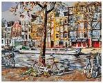 "Белоснежка Картина по номерам ""Осенний Амстердам"" 40х50 см (118-AB)"