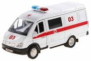 Микроавтобус Welly ГАЗель Скорая помощь (42387BAE)