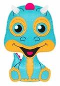 Feltrica Набор для изготовления мягкая игрушка Дракон (4627130653270)