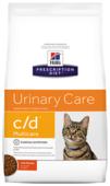 Корм для кошек Hill's Prescription Diet для профилактики МКБ, с курицей