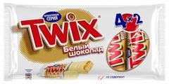 Батончик Twix белый шоколад, 55 г, мультипак