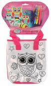 MultiArt Набор для росписи сумки Совушки (ST-025-OWL)