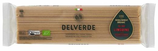 Delverde Industrie Alimentari Spa Макароны Integrale Biologica Organic № 142 Linguine цельнозерновые, 500 г
