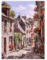 """Белоснежка Картина по номерам """"Франция. Динан"""" 30х40 см (254-AS)"""