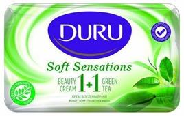 Крем-мыло кусковое DURU Soft Sensations 1+1 Крем & зелёный чай