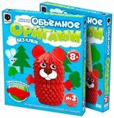 """Фантазёр 956003 Объемное оригами """"Медведь"""""""
