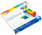 Пластилин ГАММА Классический 10 цветов 200 г со стеком (281032)