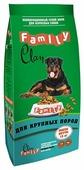 Корм для собак CLAN Family Сухой корм для взрослых собак крупных пород с курицей