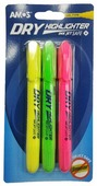 AMOS Набор маркеров-текстовыделителей, 3 цвета (540560)