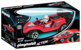 Набор с элементами конструктора Playmobil Action 9090 Радиоуправляемый ракетный гонщик