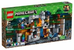 Конструктор LEGO Minecraft 21147 Приключения в шахтах
