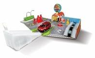 Bburago Игровой набор Street Fire автомойка, заправка, автосервис 18-30048