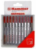 Набор пилок для лобзика Hammer JG WD-PL-MT 204-905 10 шт.