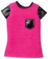 Barbie Футболка для куклы Барби CFX74