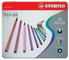 "STABILO Фломастеры ""Pen 68"" 20 шт. (6820-6)"
