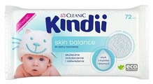 Влажные салфетки Cleanic Kindii Skin Balance