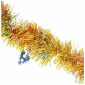 Мишура Феникс Present новогодняя разноцветная с елочками 6 х 200 см
