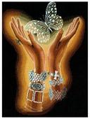 Сделай своими руками Набор для вышивания крестиком Хрустальная бабочка 31 х 40 см (Х-04)