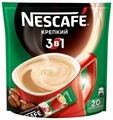 Растворимый кофе Nescafe 3 в 1 крепкий, в стиках
