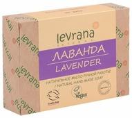 Мыло кусковое Levrana Лаванда натуральное ручной работы