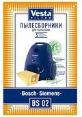 Vesta filter Бумажные пылесборники BS 02