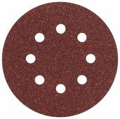 Шлифовальный круг на липучке BOSCH 2609256A24 125 мм 5 шт