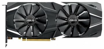 Видеокарта ASUS GeForce RTX 2070 1410MHz PCI-E 3.0 8192MB 14000MHz 256 bit HDMI HDCP Dual OC