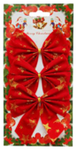 Набор елочных игрушек Феникс Present Бант (39197)