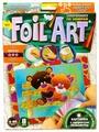 Danko Toys Аппликация цветной фольгой Foil Art по номерам Медвежата (FAR-01-08)