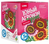 Набор для выращивания LORI Юный агроном. Хризантема Р-018
